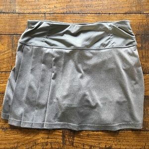 BOLLE tennis skort / gray / size S